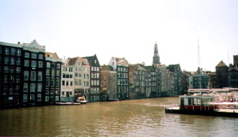 Amsterdam: By A Dark Canal (f)