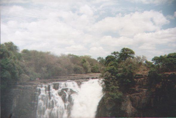 Victoria Falls (part of), Zambia: Postcards from Terri
